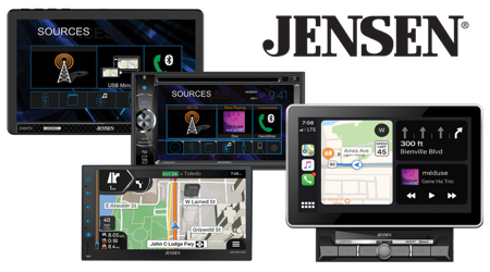 Push to Talk Assistant Jensen CMM720 7 inch LED Multimedia Touch Screen Double Din Car Stereo |USB Screen Mirroring USB /& microSD Bluetooth Front /& Rear Camera Steering Wheel Control